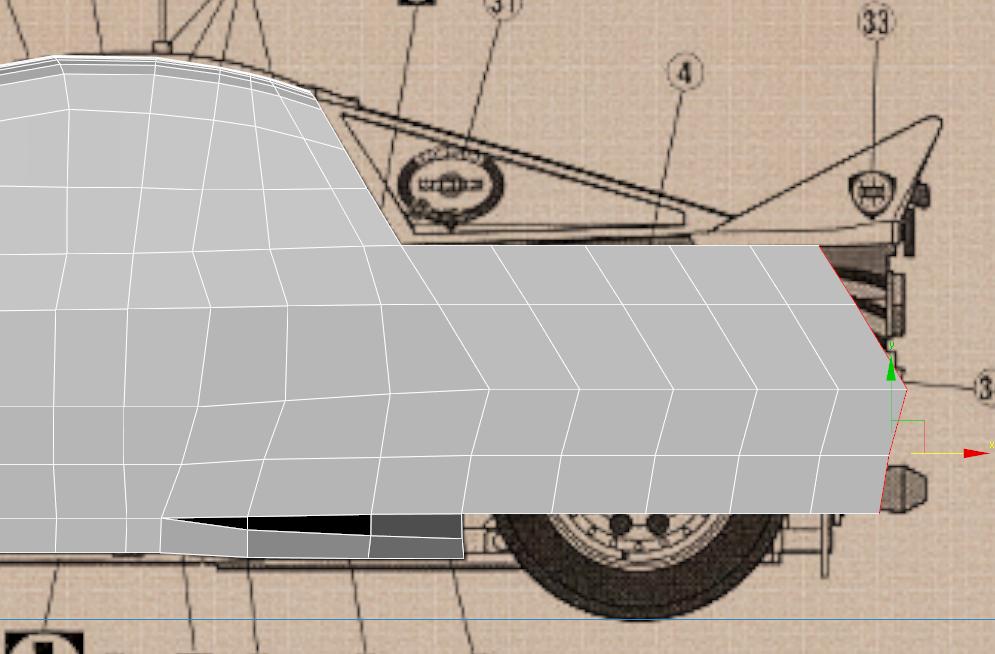 Lancia Rally Car 3d modeling tutorial 48