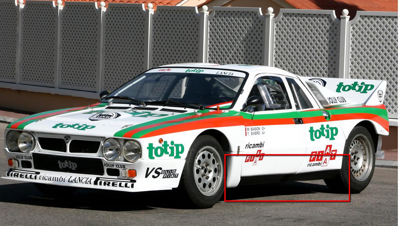 Lancia Rally Car 3d modeling tutorial 6