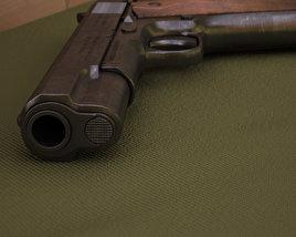 3D model of Colt M1911
