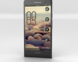 3D model of Huawei Ascend P6 Black