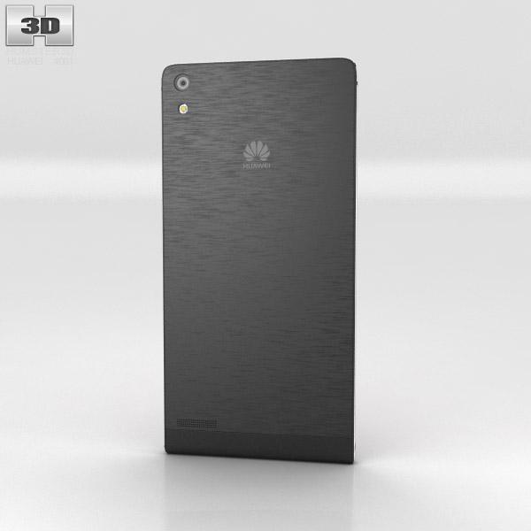 Huawei Ascend P6 Black 3d model