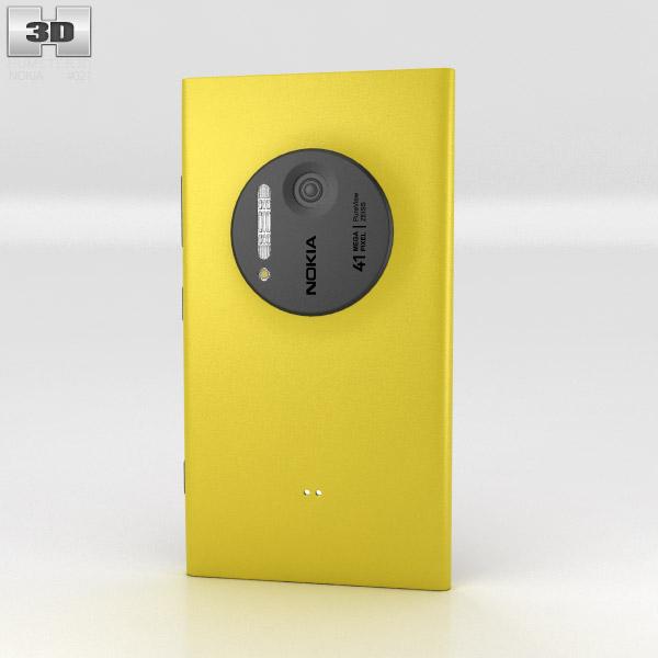 Nokia Lumia 1020 Yellow 3d model