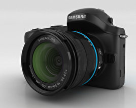 3D model of Samsung Galaxy NX