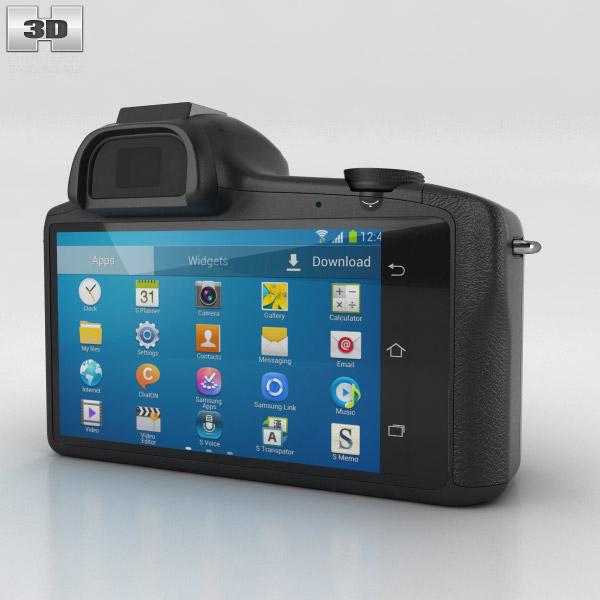 Samsung Galaxy NX 3d model