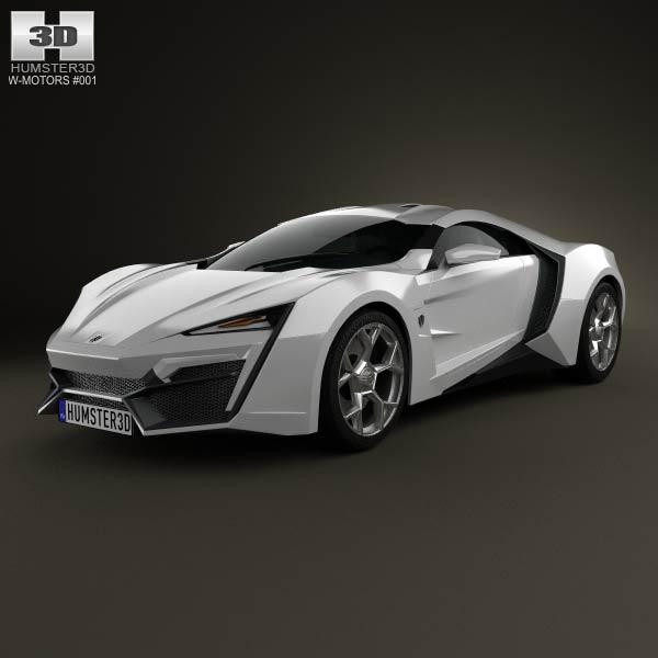 W-Motors Lykan hypersport 2012