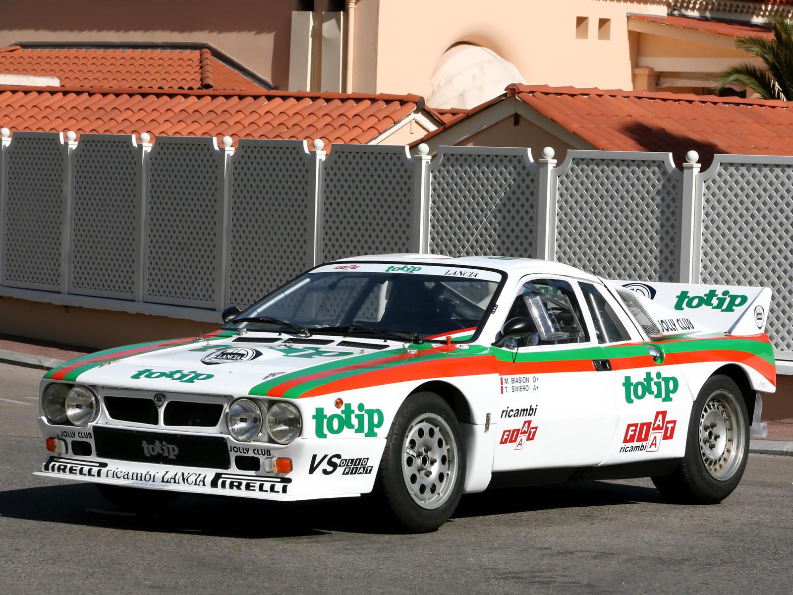 Lancia Rally Car