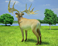 Irish Elk 3d model