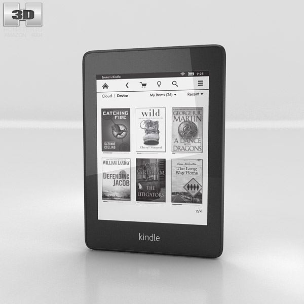 3D model of Amazon Kindle Paperwhite