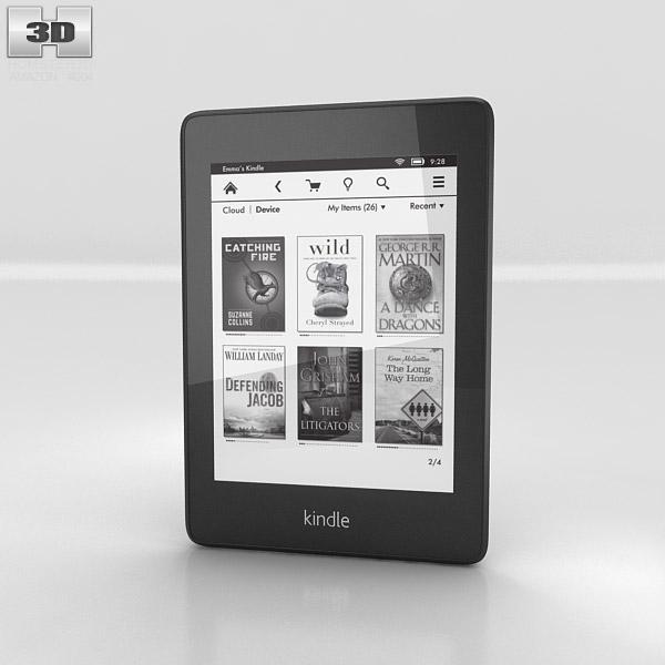 Amazon Kindle Paperwhite 3D model