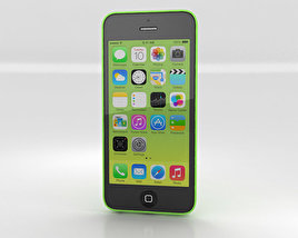 3D model of Apple iPhone 5C Green