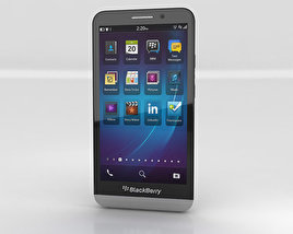 3D model of BlackBerry Z30