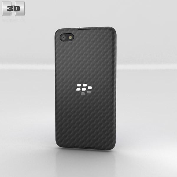 BlackBerry Z30 3d model