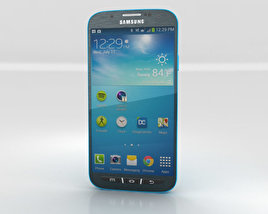 3D model of Samsung Galaxy S4 Active Dive Blue