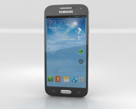 3D model of Samsung Galaxy S4 Mini Black