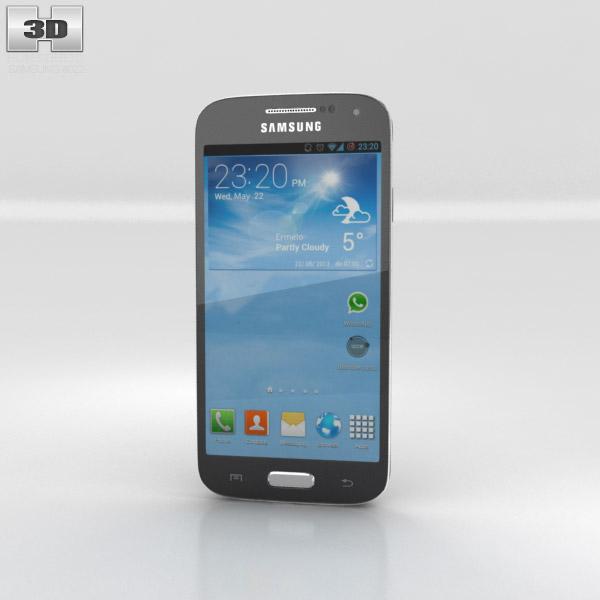 Samsung Galaxy S4 Mini Black 3d model
