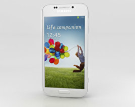 3D model of Samsung Galaxy S4 Zoom White