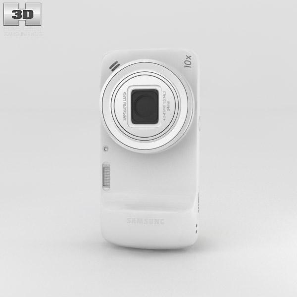 Samsung Galaxy S4 Zoom White 3d model