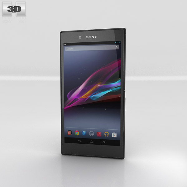 Sony Xperia Z Ultra Black 3d model