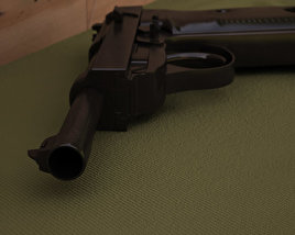 3D model of Walther P38