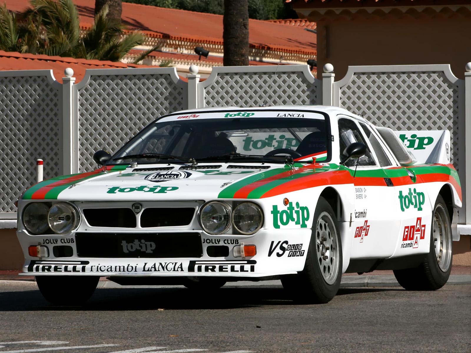 Lancia Rally 037 model tutorial