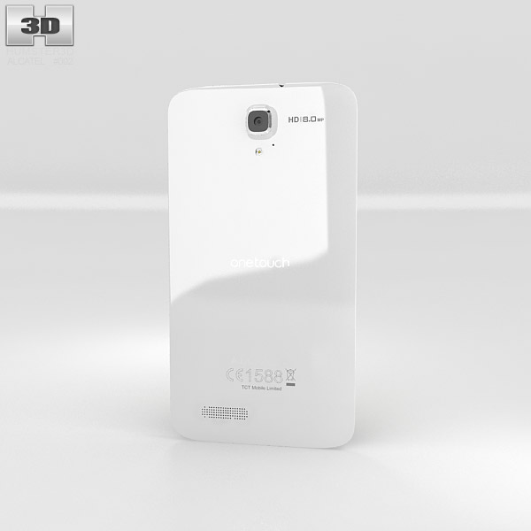 Alcatel One Touch Scribe HD 3Dモデル