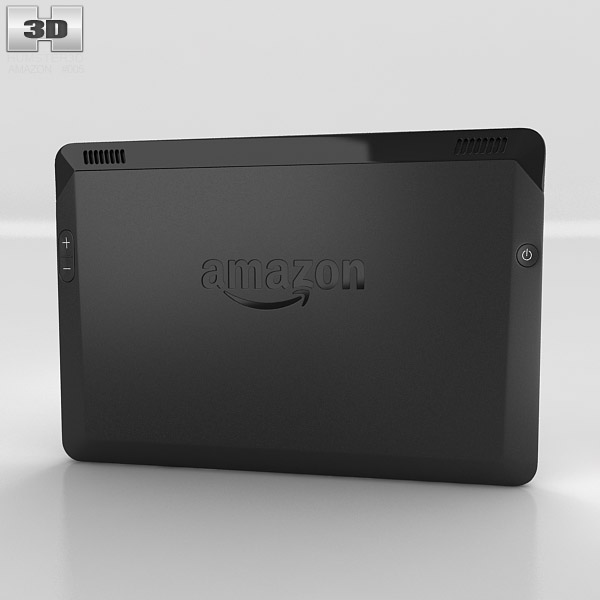 Amazon Kindle Fire HDX 7 inches 3d model