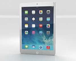 3D model of Apple iPad Air Silver WiFi