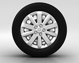 3D model of Chevrolet Cruze Wheel 16 inch 001