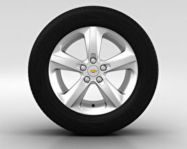 3D model of Chevrolet Cruze Wheel 16 inch 002