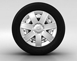 3D model of Chevrolet Lacetti Wheel 15 inch 001