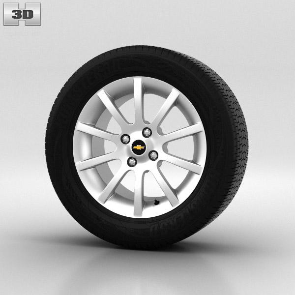 Chevrolet Lacetti Wheel 15 inch 002 3d model