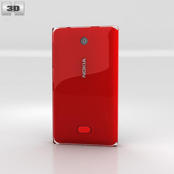 Nokia Asha 500 3d model