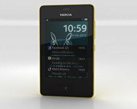 3D model of Nokia Asha 501