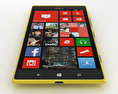 Nokia Lumia 1520 Yellow 3d model