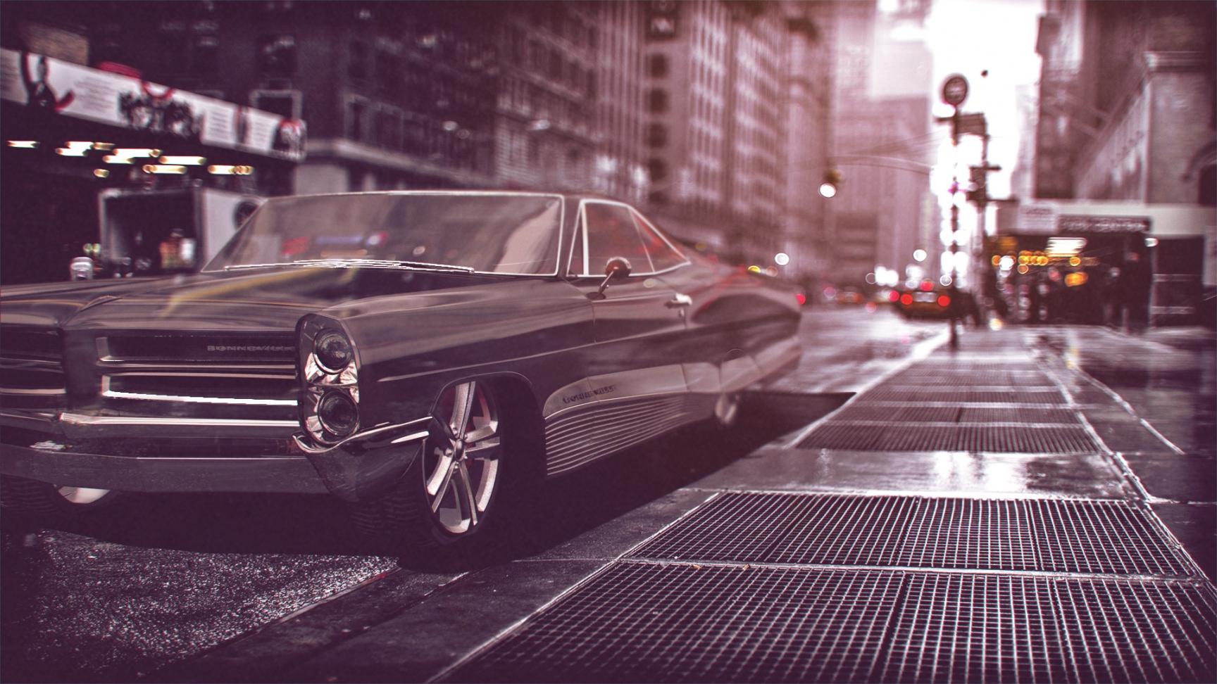 1969 Pontiac Bonneville 3d art
