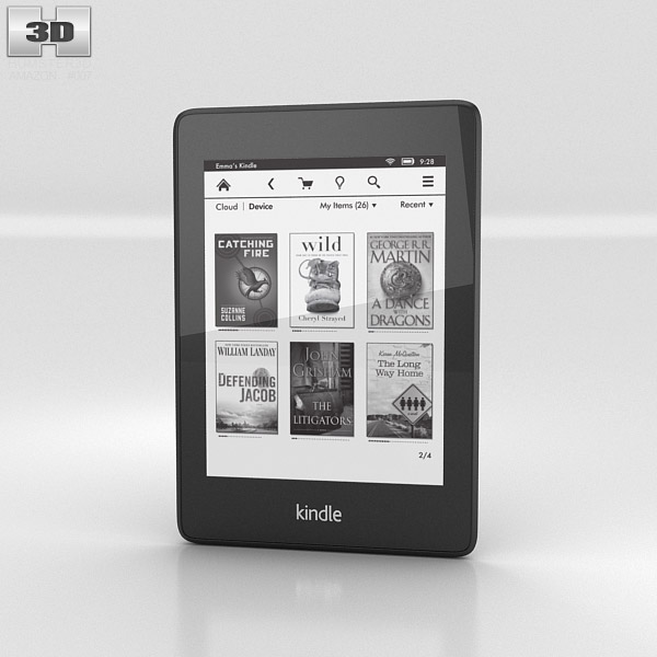 Amazon Kindle Paperwhite (2013) 3D model