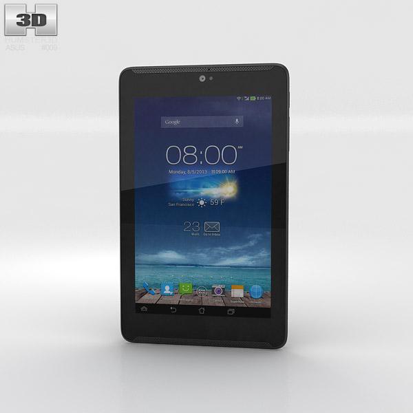 Asus Fonepad 7 Sapphire Black 3D model