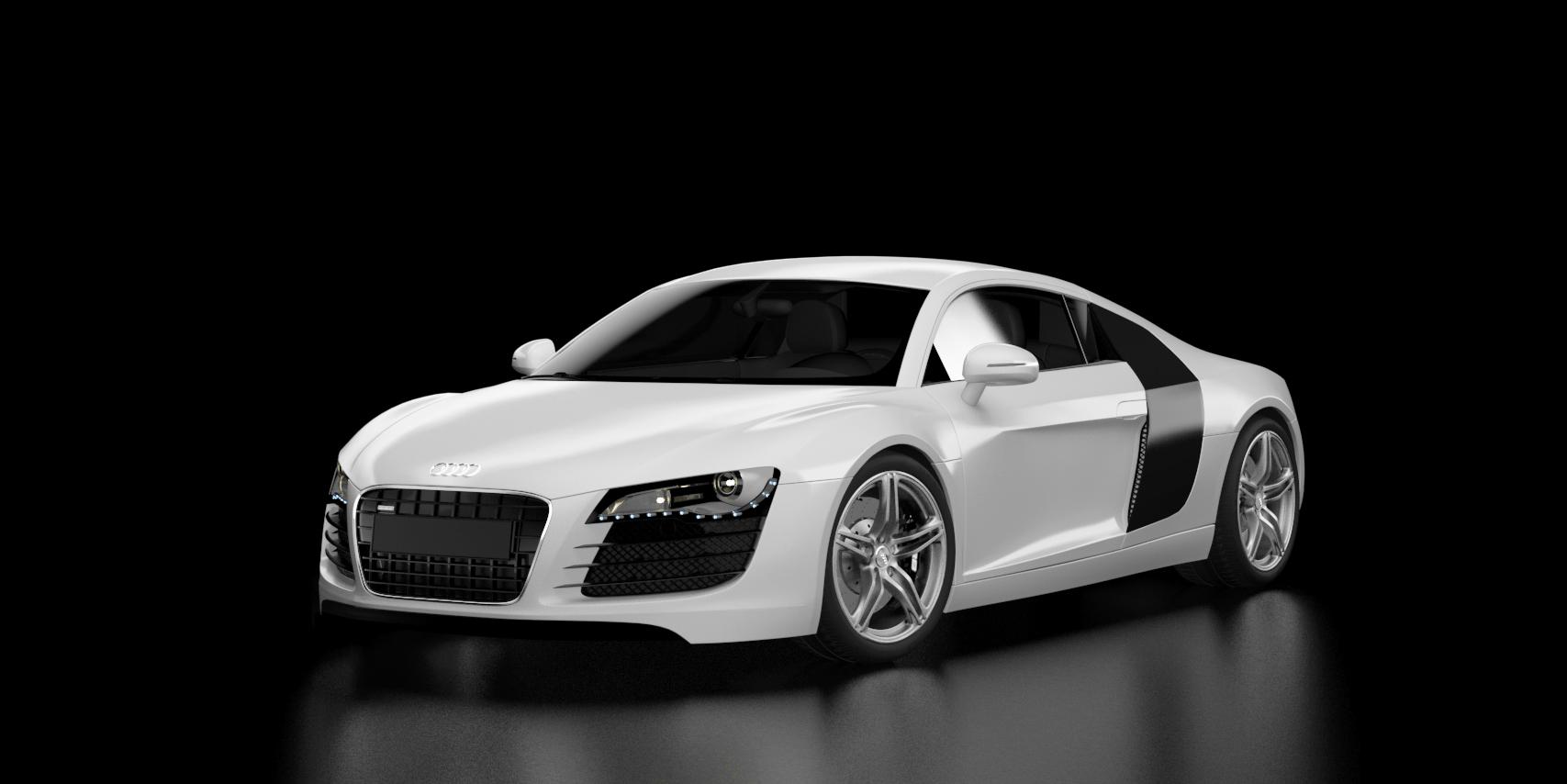 Audi R8 2007 3d art