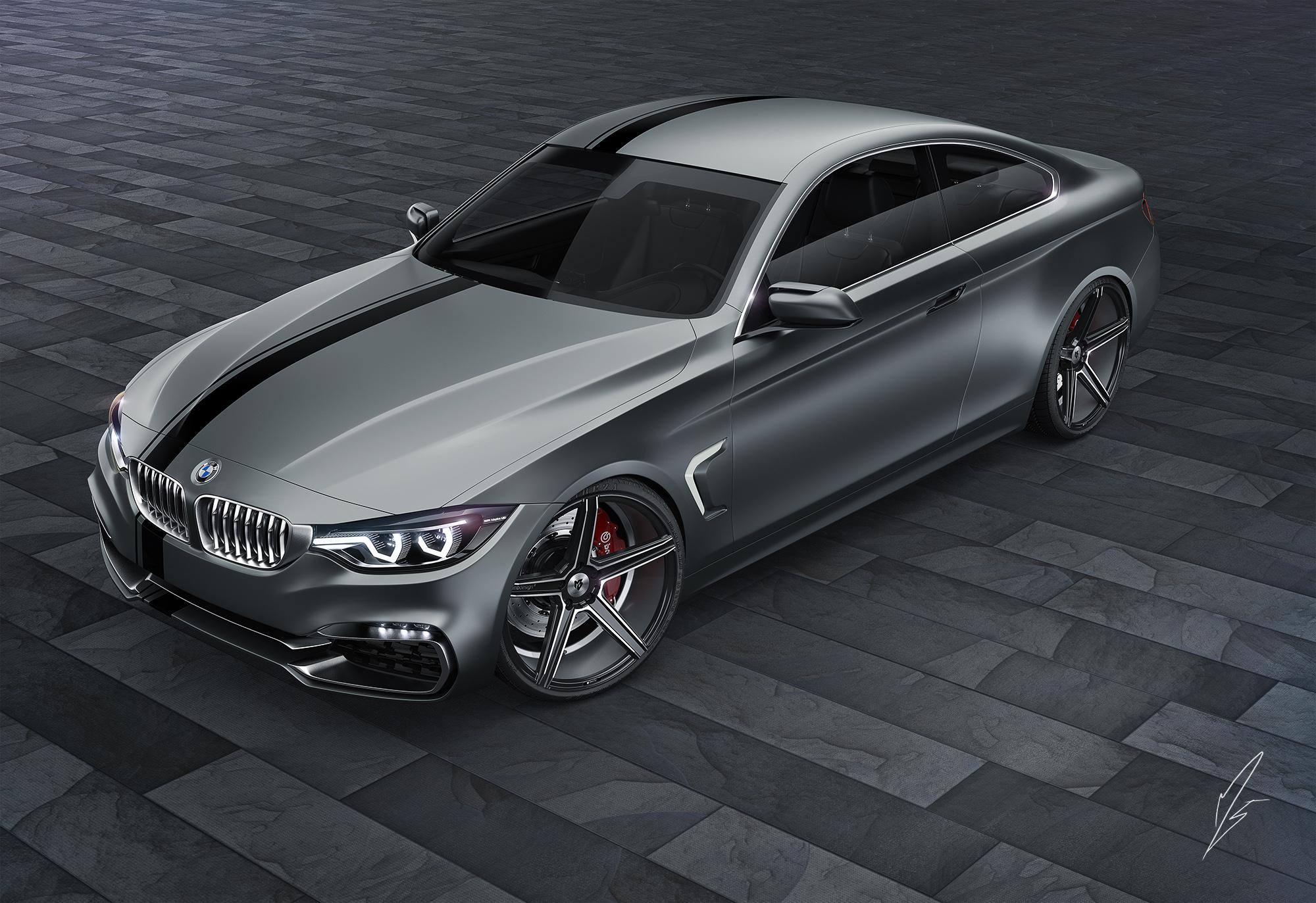 BMW 4Series 3d art