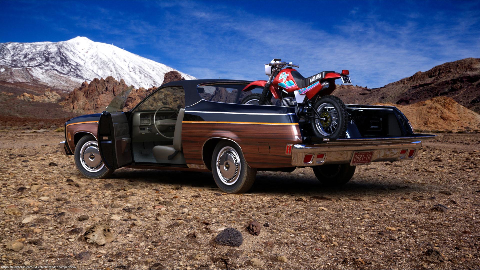Chevrolet El Camino ´73 3d art