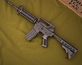3D model of Colt M4A1