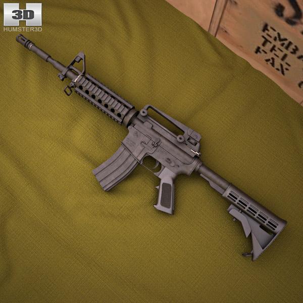 Colt M4A1 3D model