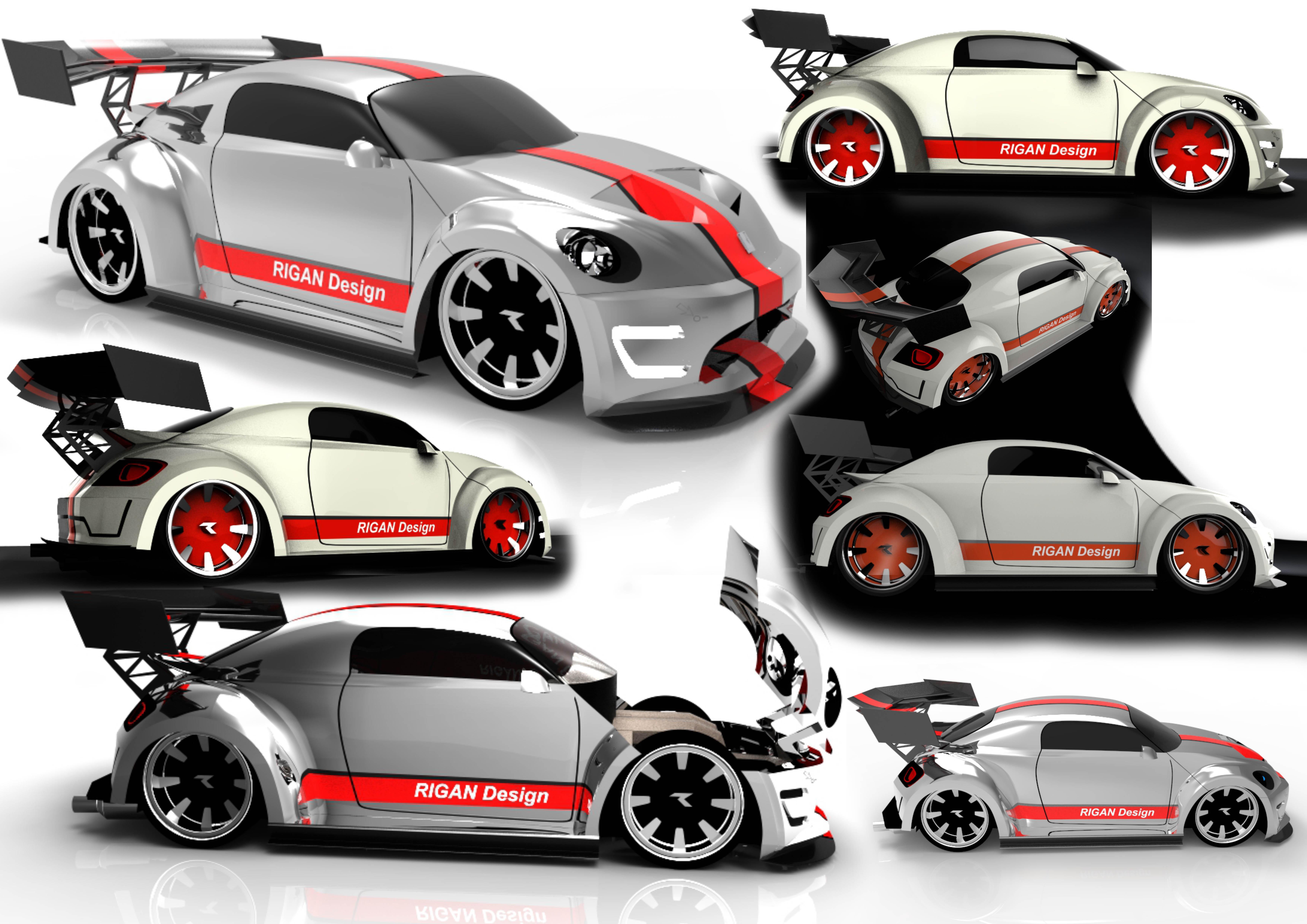 Concept car - Beetle RT 3d art