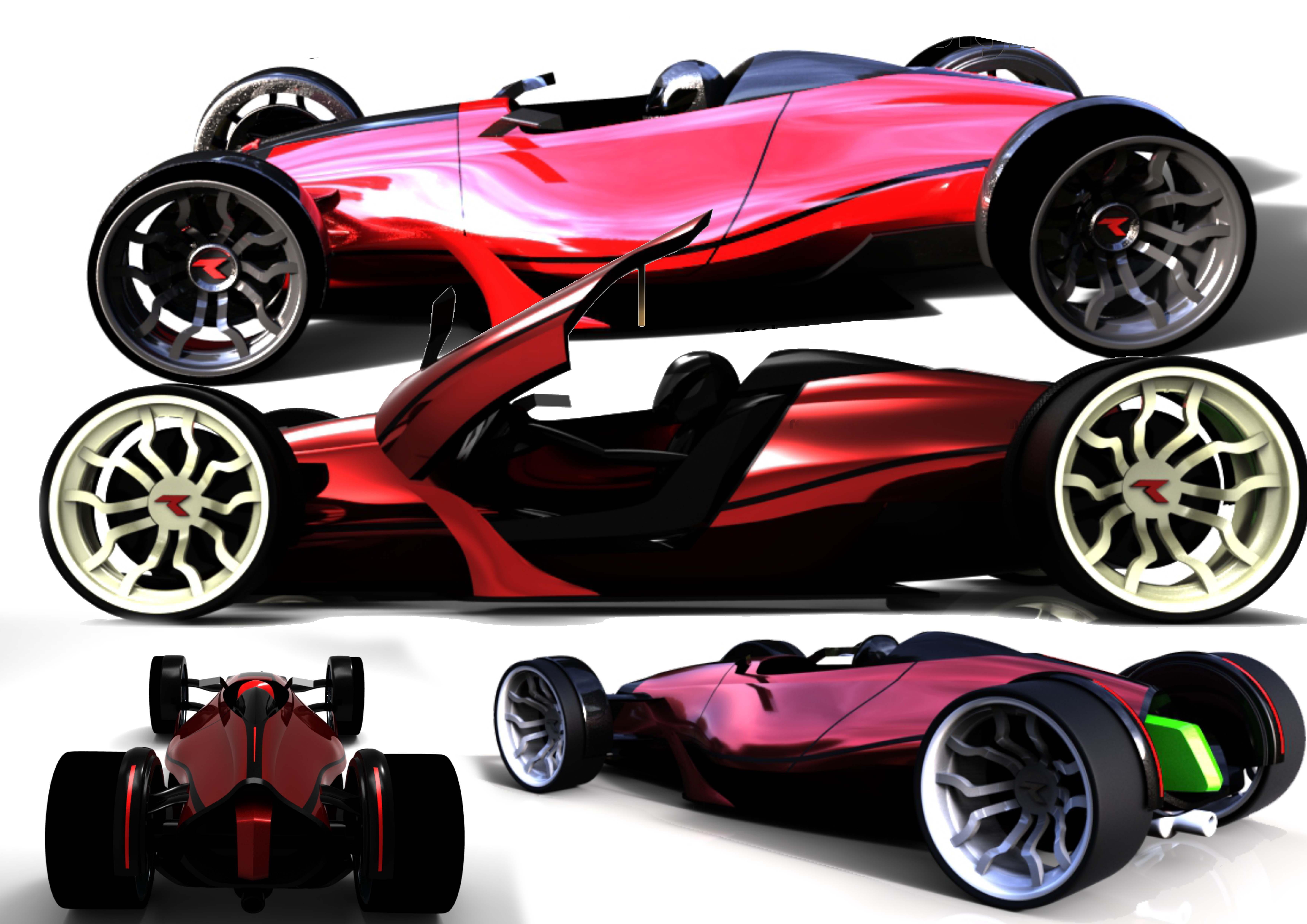Concept car - SPortster 2015 3d art
