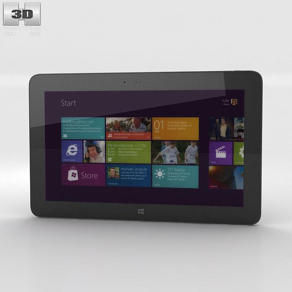 3D model of Dell Venue 11 Pro Windows