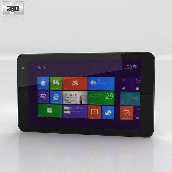 3D model of Dell Venue 8 Pro