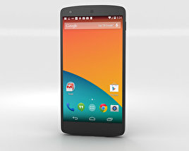 3D model of Google Nexus 5