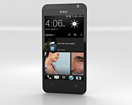 3D model of HTC Desire 300 White