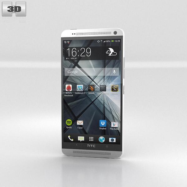 HTC One Max 3d model