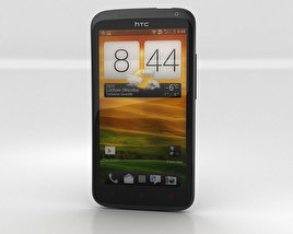 HTC One X plus 3D model